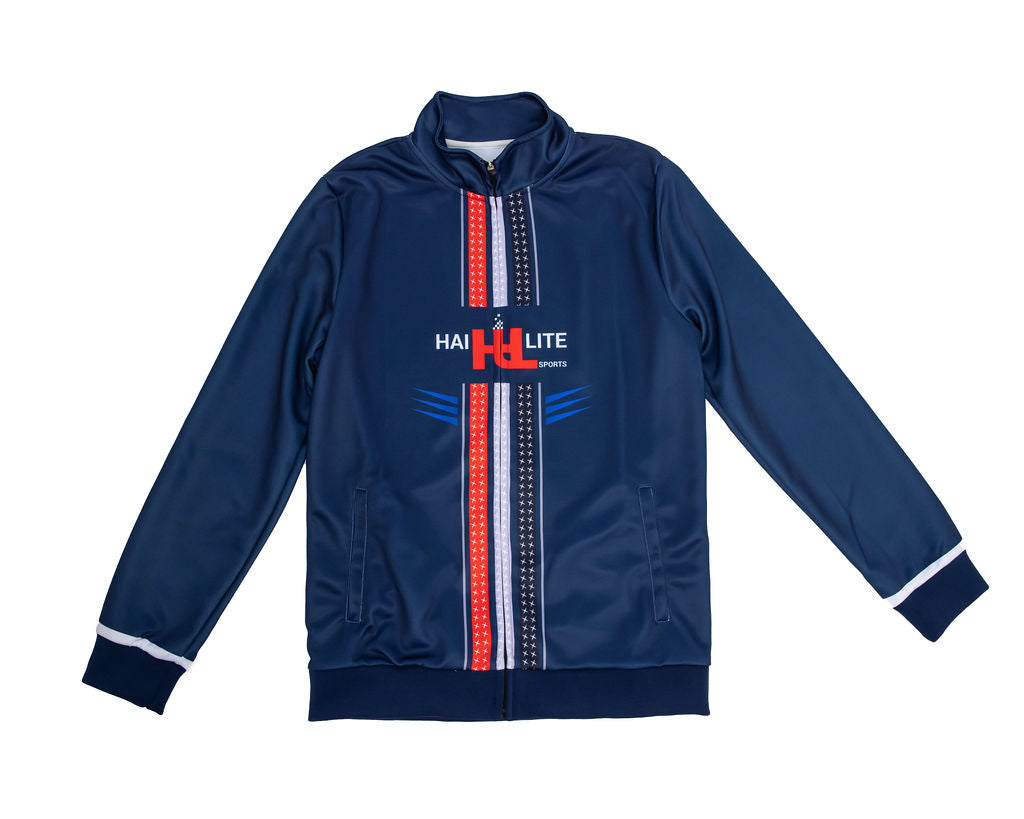 MEN'S HAI-LITE SPORTS STARS AND STRIPES TRACKSUIT NAVY