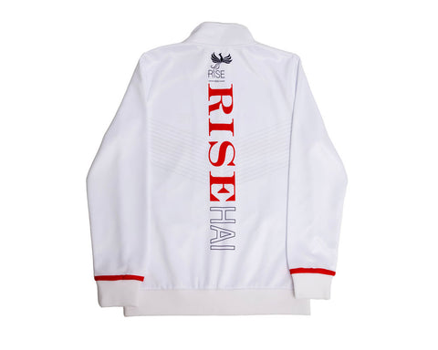 MEN'S HAI-LITE SPORTS STARS AND STRIPES TRACKSUIT WHITE