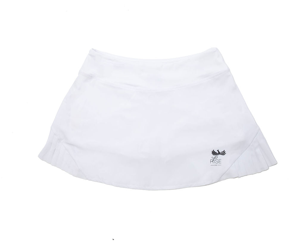 WOMEN'S RISE-HAI PERFORMANCE SKORT WHITE