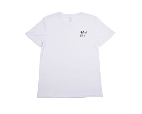 MEN'S RISE-HAI SPORTS AND LEISURE SHORT SLEEVE WHITE