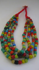 Jewelry,multi-colored beads