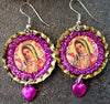 Jewelry, Guadalupe Earrings