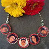 J. Frida Bottle Cap Necklace