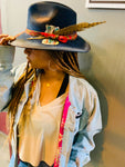 Custom handmade hats: Choice Plasencia, Actress