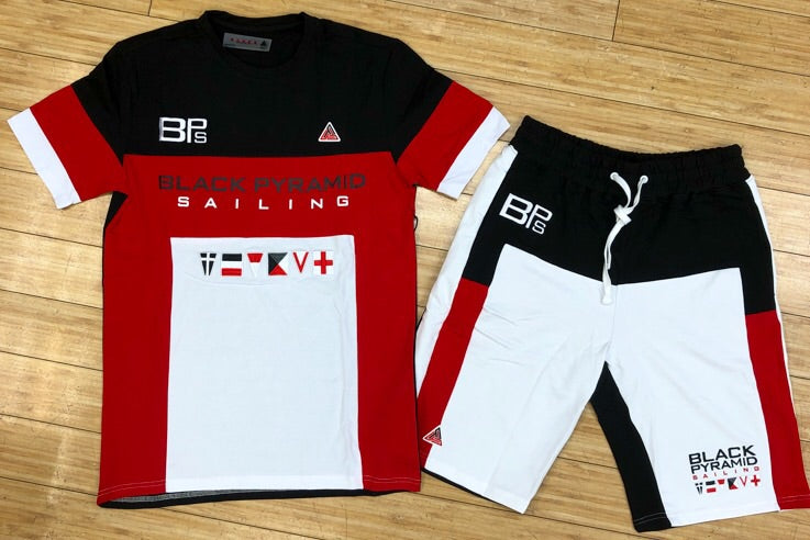 Black Pyramid- BP sailing shorts sets