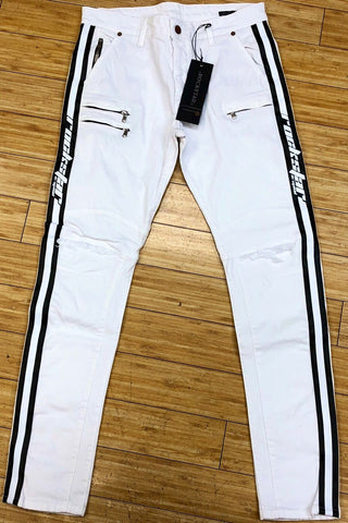 ROCKSTAR-WHITE BLACK SMITH JEANS