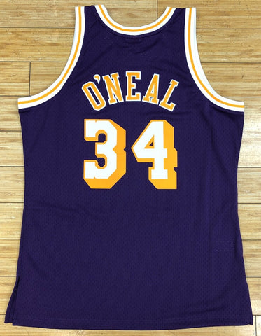 Mitchell & Ness- Shaquille O'Neal 1996-97 Los Angeles Lakers swingman Jersey