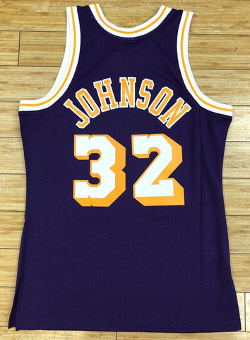 Mitchell & Ness- Magic Johnson swingman Jersey Los Angeles Lakers