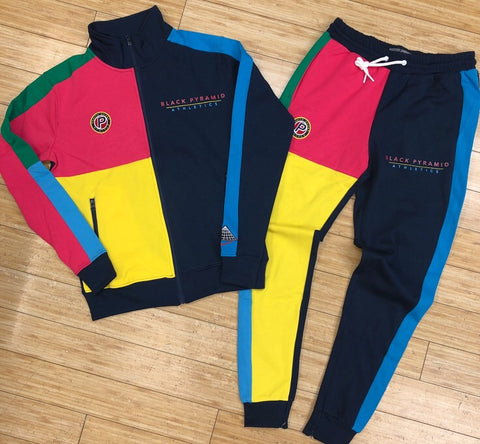 Black pyramid- BP athletic color tracksuit