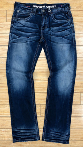 American fighter- legend freedom cane jeans