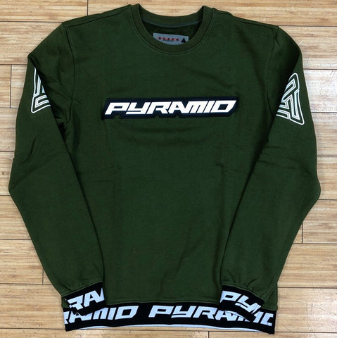 Black pyramid- pyramid sweatshirt