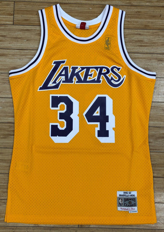 Mitchell & Ness- Shaquille O'Neal swingman Jersey Los Angeles Lakers