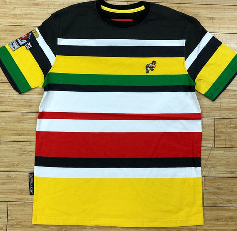 Heritage- striped ss tee