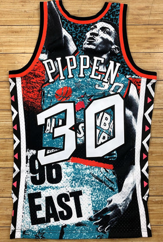 Mitchell & Ness- nba sublimated swingman jersey ase 96 Pippen