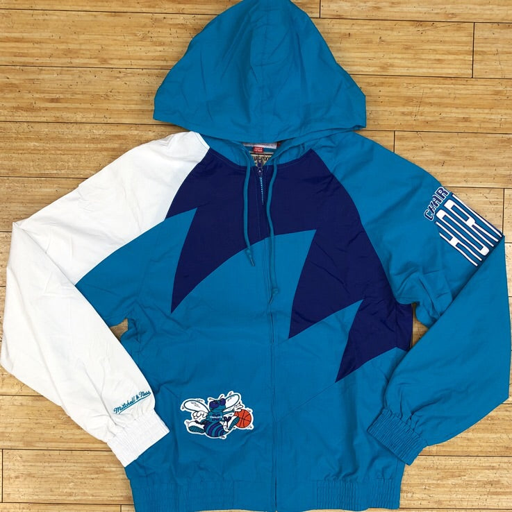 Mitchell and ness-nba shark tooth jacket