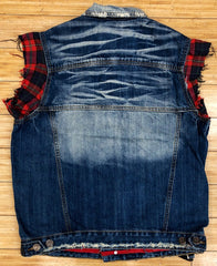 Smugglers- blue smugglers denim vests