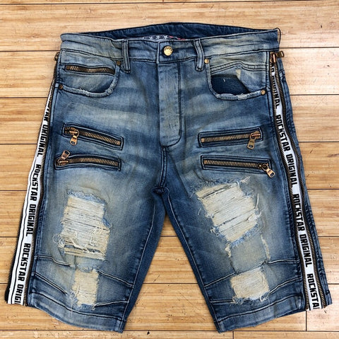 Rockstar- Trent biker shorts (light)