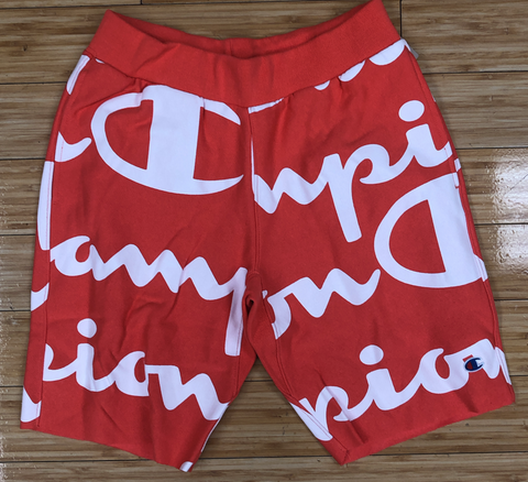 Champion- all over print shorts