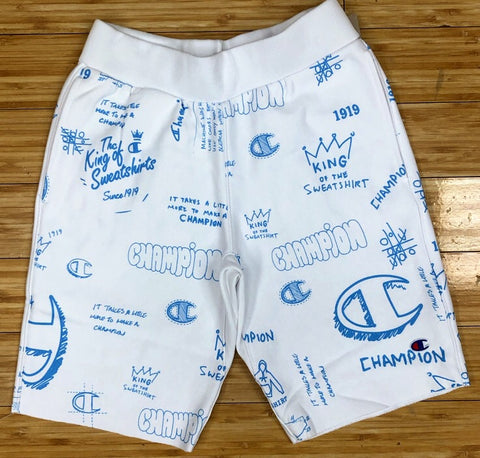 Champion- scribble script shorts