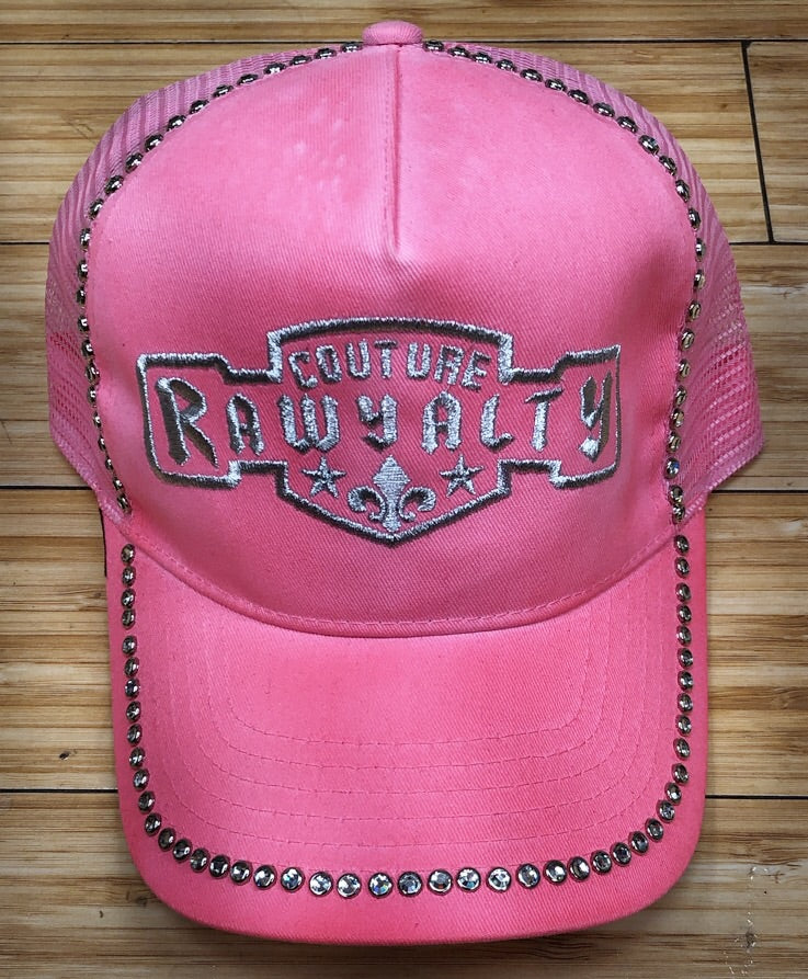 Rawyalty- couture rawyalty hat