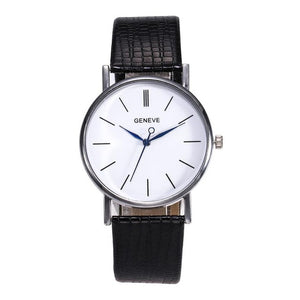Montre de Luxe femme bracelet cuir - TECH AND CASH