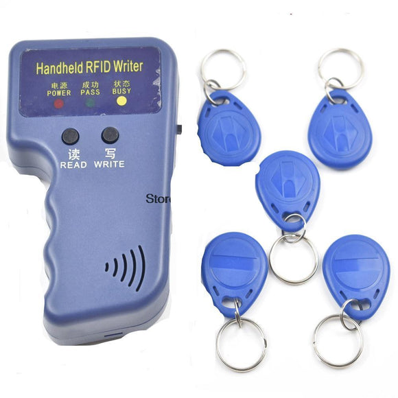 Duplicateur RFID EM4100 125KHz + 5 badges - TECH AND CASH