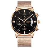 Montre de Luxe Quartz style sport - TECH AND CASH