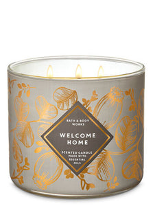 BATH & BODY WORKS - WELCOME HOME | 3-Wick Candle