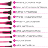 BH COSMETICS - Sculpt And Blend Fan Faves 10 Piece Brush Set