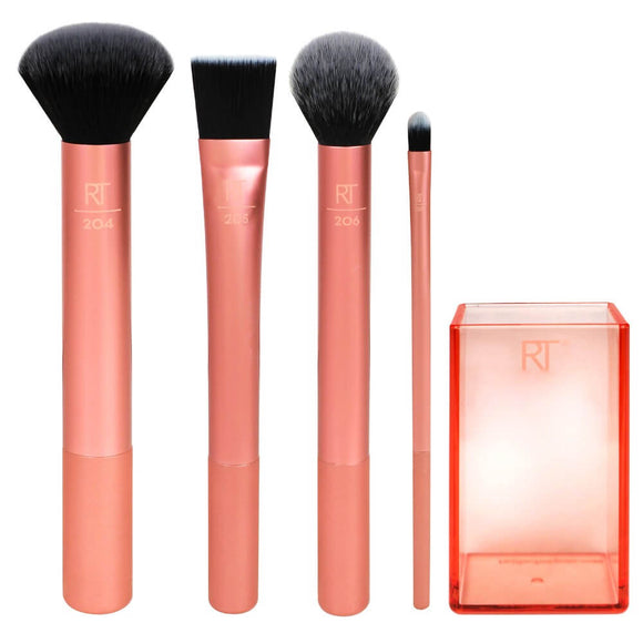 REAL TECHNIQUES - Flawless Base Make-up Brush Set