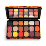 MAKEUP REVOLUTION - FOREVER FLAWLESS FIRE EYESHADOW PALETTE