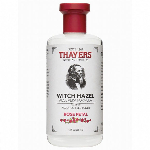 Thayers, Witch Hazel Aloe Vera Formula, Alcohol-Free Toner, Rose Petal