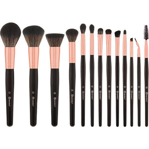 BH COSMETICS - SIGNATURE ROSE GOLD 13 PIECE BRUSH SET