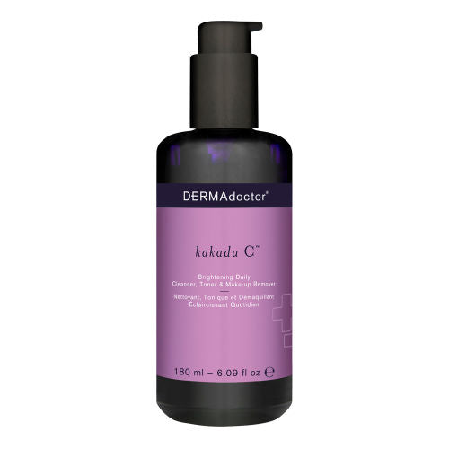 DERMAdoctor - Kakadu C Brightening Daily Cleanser Toner And Make Up Remover 180ml