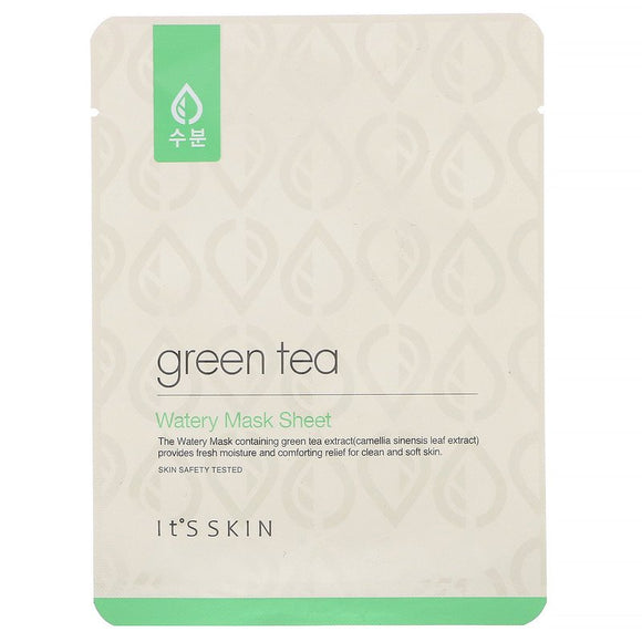 It's Skin - Green Tea, Watery Mask Sheet