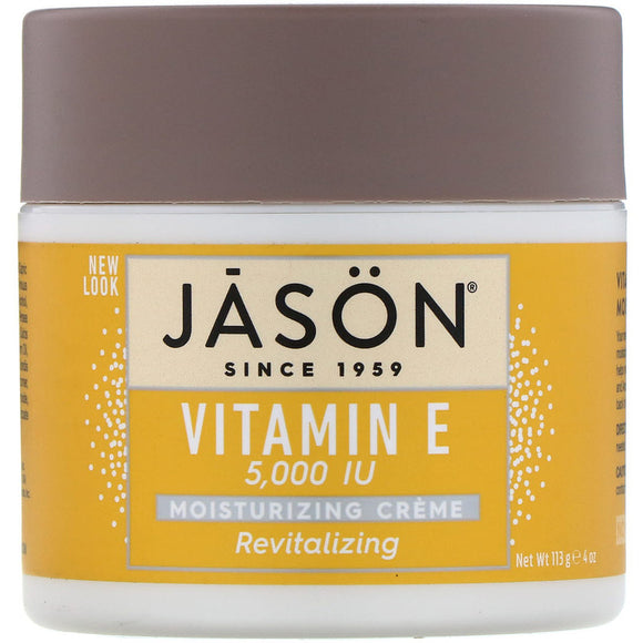 Jason Natural - Revitalizing Vitamin E Moisturizing Creme, 5,000 IU