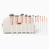 BH COSMETICS - ROSE ROMANCE 12 PIECE BRUSH SET