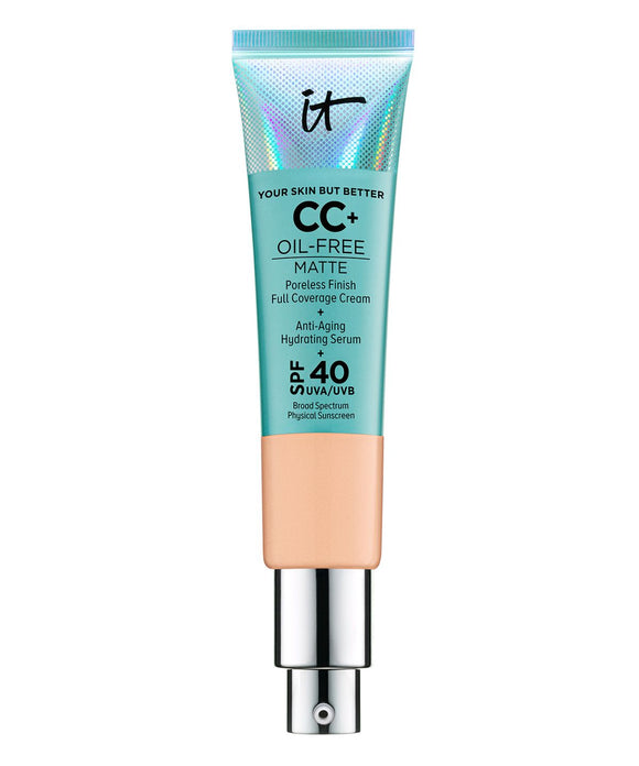IT COSMETICS - Your Skin But Better CC+ Oil-Free Matte with SPF 40
