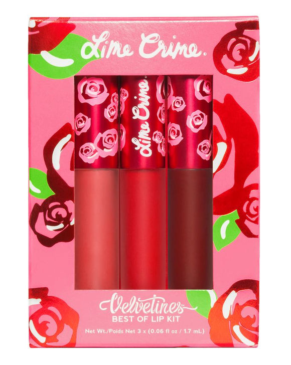 LIME CRIME - 3 Piece Mini Velvetines Set