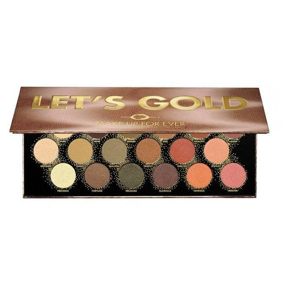 MAKE UP FOR EVER - LETS GOLD EYE PALETTE