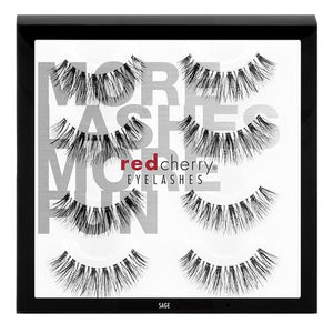 Red Cherry Lashes - #523 Sage Multipack (4 Pairs)