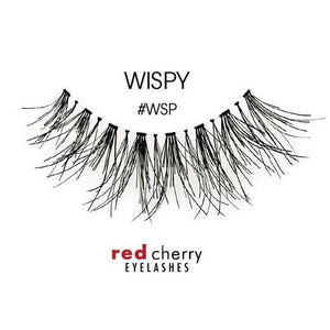 Red Cherry Lashes - Style #WSP (Wispy)
