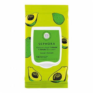 SEPHORA COLLECTION - 1 MINUTE FACE MASKS - SET OF 14 FIBER MASKS