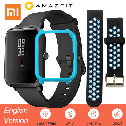 Original Xiaomi Amazfit Huami Smart Watch Youth Edition English Version Bip Lite IP68 GPS Heart Rate Mi Smartwatch