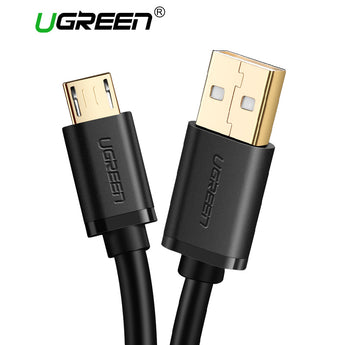 Ugreen Micro USB Cable 2A Fast Charger USB Data Cable Mobile Phone Charging Cable for Samsung Xiaomi Huawei Android Tablet Cable