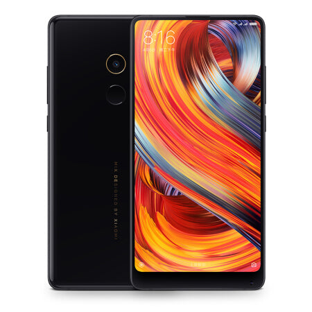 "Global Version Xiaomi Mi Mix 2 Mobile Phone 6GB 64GB Full Screen Display Snapdragon 835 Octa Core 5.99"" 2160X1080 Ceramics Body"