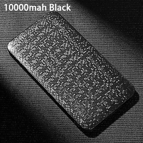 USAMS Power Bank 15mm Ultra Slim 10000mAh Powerbank Mobile Phone 2.1A Output 10000mah External Battery