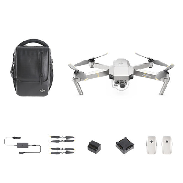 IN STOCK!!! DJI Mavic Pro Platinum Fly More Combo  Folding FPV Drone RC Quadcopter With 4K HD Camera DJI New pre-sale