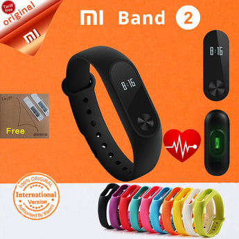 xiaomi mi band 2 Smart Bracelet miband 2 fitness tracker smart band xiaomi heart rate smartband miband 2 Pk mi band 3 xiomi #B7