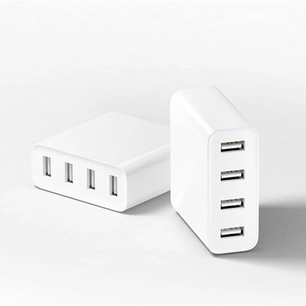 Original Xiaomi USB Charger 4 Port 5V/7A 35W Travel Wall Charger 2.4A Quick Charge Waterproof for Smartphones Pads